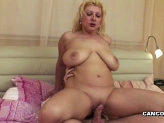 German Step-son Caught Mom Masturbation And Fuck Her Hard