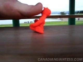 Big Giantess Toes