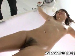Asian Lass Is Tied Up And Stimulated Hard With Sex Toys