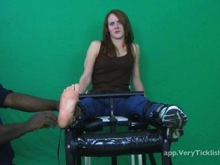 Tickling Shoe Sock Removal