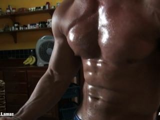Boned Up Chiseled Muscle Jock