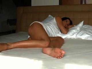 Sleeping Celine Feet
