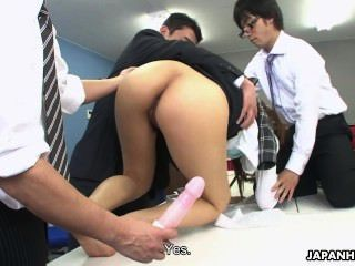 Saki Gets Toyed As She Wants To Handle Some Business