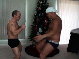Two Guys Play Roshambo...kicking Style