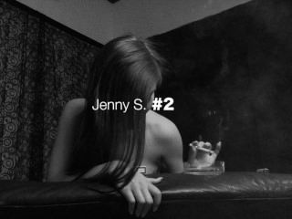 Jenny S. 002 Smoking Fetish And Orgasm Trailer From Smokeagony.com