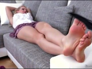 Sleeping Jasmina Foot Tease