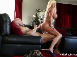 Nikita Von James Gets Fucked By A Hard Cock Pov Style