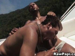 Sexy Latin Gay Hardcore Bareback Sex