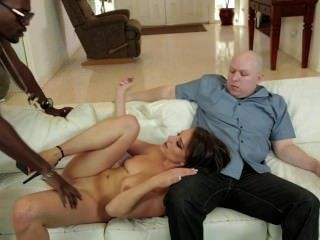 Wife Cucks Hubby With A Huge Bbc Because Hubby Would Rather Watch Football