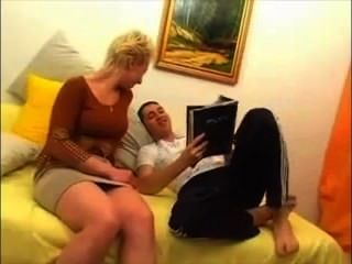Russian Amateur Video Mom And Son