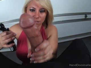Lady Bella Handjob