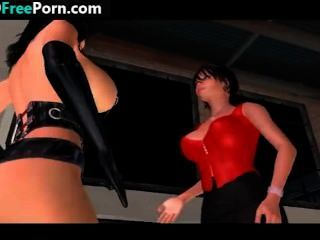 Big Tit Lesbians Get Freaky