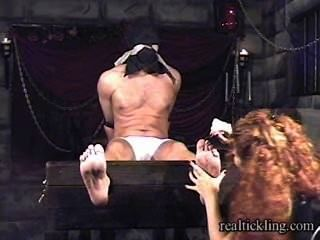 Priscilla Prolonged Tickle Torture Of Masked Guy 1