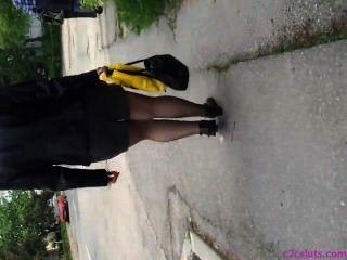 Street Pantyhose 2