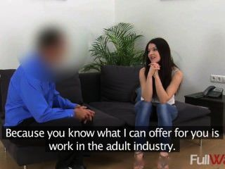 C1446 Lina [fake Agent] - Sexy Student Gets Fucked Hard In Casting Intervie