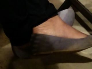 Candid Feet In Flats Part 5 (finale)