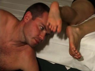 Foot Worship In Bed