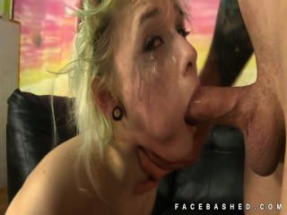 Andie Adore Shocking Face Fuck Action