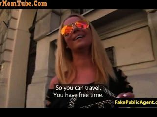 Pickedup Euro Pussyfucked Before Cum In Mouth