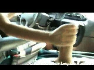 Handjob Wile Driving In Traffic With Tiffany