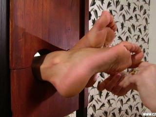Czech Foot Worship