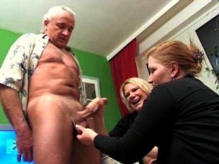 Two Girls Brutal Minimized Orgasm
