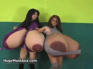 Two Sexy Brunette Babes Get Horny Part6