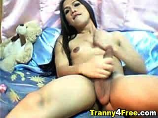 Tranny With Big Tits And Big Cock