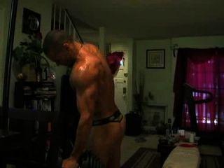 Marcus Patrick Thong Workout Part 3