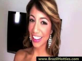 Young Brazilian Teen Loves Cum Inside Her Mouth - brazilhotties.com