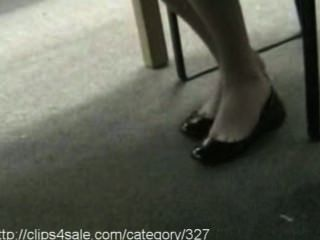 Sexy Shoe Dipping At Clips4sale.com