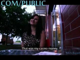 Busty Amateur Fucks In Public
