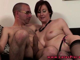 Milf In Stockings Banged From Behind