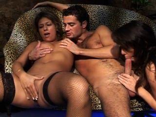 Caroline Eden & Alyson Ray & Nomi Hot Orgy