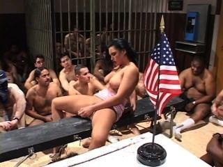 American Bukkakes Biggest Swallows - Scene 2