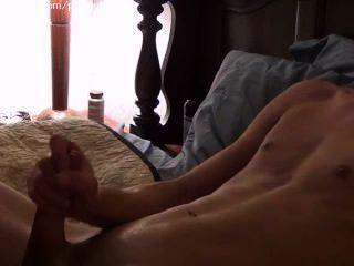 Hot Guy Jerking His Nice Cock