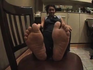 Bg Ebony Feet Ticklishi