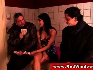 Eurosex Prostitute Sucks And Fucks Cock