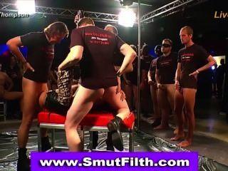 Bukkake Slut Fuck Cum Drench