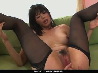 Hottie Saki Aoyama Asian Girl Giving Blowjob And Fucking