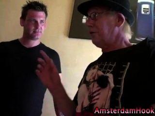 Blonde Dutch Amateur Horny Whore