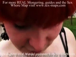 Skanky Amateur Redhead Chick Florence Asshole Fucked For Money