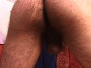 Str8 Hairy Boy Exhibitionist.