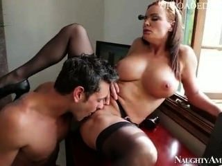 Unruly Student Unpacks The Package Of His Horny Teacher Miss Foxxx