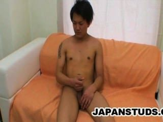 Akira Hirose - Smooth And Handsome Japan Boy Jerking On Cam