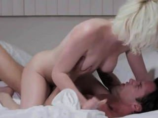 Blonde Babe Penetrated By Tatooed Lover