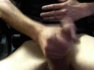 Lunchbreak Jerk And Cum