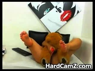 Busty Latin Webcam Babe