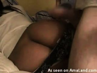 Amateur Black Girl With Nice Ass Getting Fucked By White Men