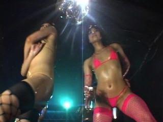 Micro Bikini Oily Dance 1 Scene 6 - All Micro Bikini Dancers
